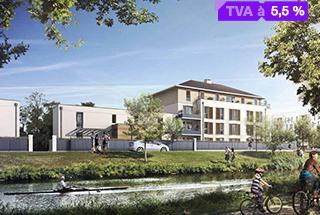 Meaux Appartement neuf 3 pièces 60 m²