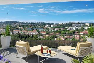 Appartement 2 pièces  à vendre Toulon 83000