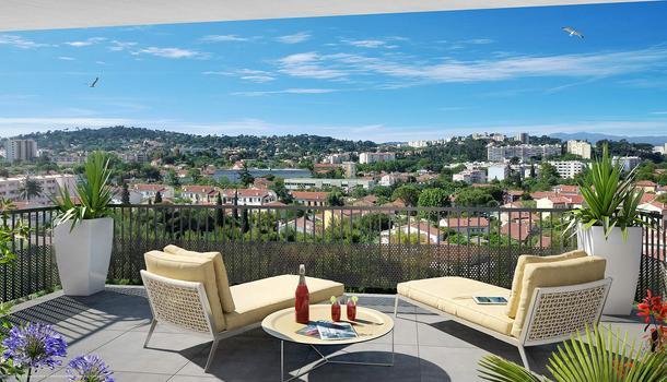 Toulon T2 2 pièces 40 m²