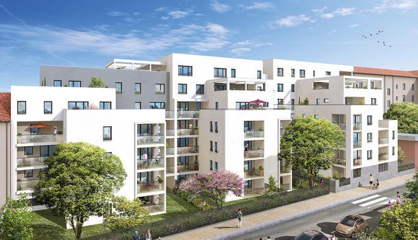 Appartement neuf 2 pièces 44 m²