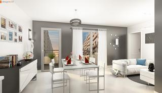 Marseille 4eme Appartement neuf 75 m²