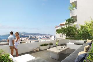 La Voile Blanche,                                                                                       Appartement neuf                                                                                      Toulon&nbsp-                                                                                      83000