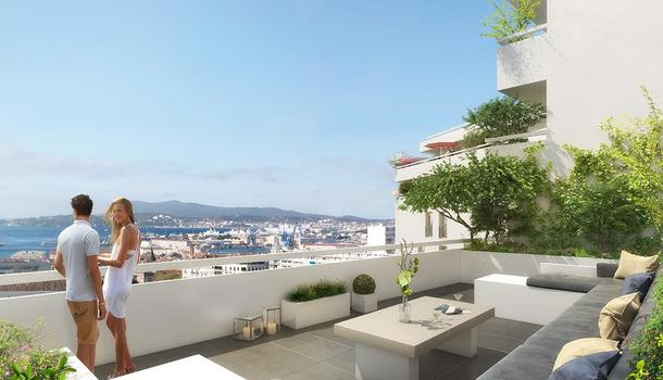 Appartement neuf 2 pièces 44 m² Toulon 83000