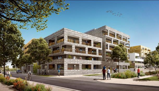 Appartement neuf 2 pièces 39 m² Montpellier 34000