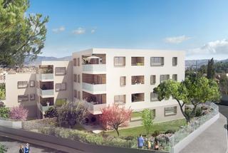 Coteau verde,                                                                                       Appartement neuf                                                                                      Marseille 13eme-