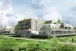 Ostwald Appartement neuf 2 pièces 48 m²