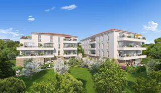 Marseille 11eme Appartement neuf 2 pièces 37 m²