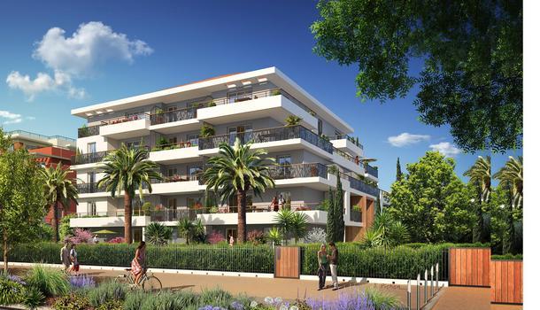 Appartement neuf 2 pièces 40 m² Cannes 06150