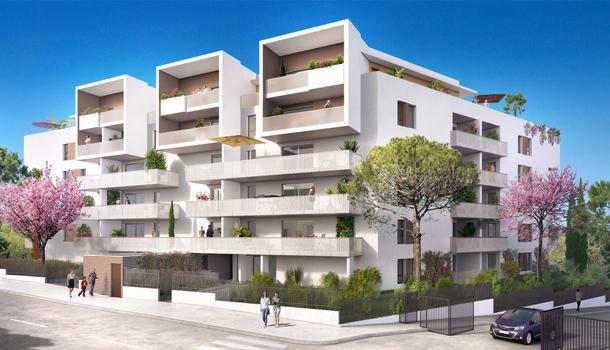 Appartement neuf 27 m² Marseille 10eme 13010