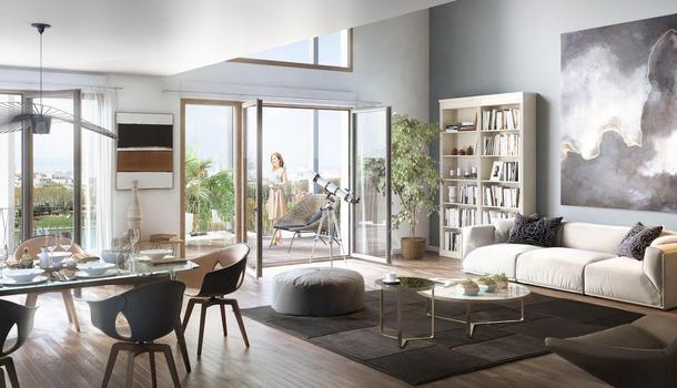 Appartement neuf 4 pièces 81 m² Clichy 92110