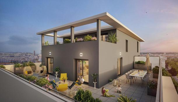 Appartement neuf 4 pièces 75 m² Villeurbanne 69100