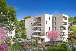 Domaine des Pins,                                                                                       Appartement neuf                                                                                      Marseille 11eme-