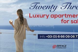 Appartement 2 pièces  à vendre Roquebrune-Cap-Martin 06190