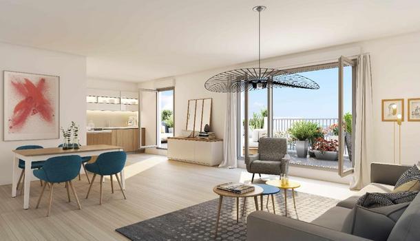 Bagnolet Appartement 4 pièces 89 m²