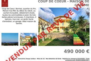 Villa / Maison 6 pièces  à vendre Bormes-les-Mimosas 83230