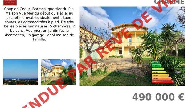Bormes-les-Mimosas Maison 6 pièces 140 m²