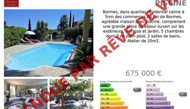 Bormes-les-Mimosas Maison 6 pièces 150 m²