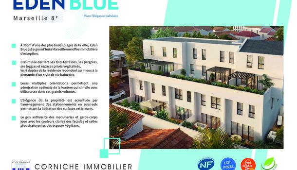 Marseille 8eme Appartement 5 pièces 127 m²