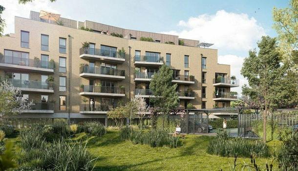 Appartement neuf 2 pièces 38 m² Arras 62000