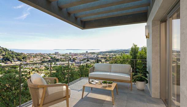 Bormes-les-Mimosas Appartement neuf 3 pièces 58 m²
