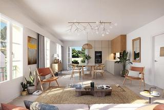 Chemin des Comtes de Provence,                                                                                       Appartement neuf                                                                                      Rouret (Le)&nbsp-                                                                                      06650