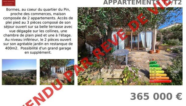 Bormes-les-Mimosas Maison 4 pièces 50 m²