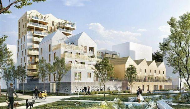 Appartement neuf 2 pièces 49 m² Rennes 35200