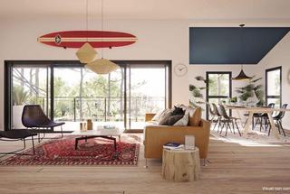Marseille 9eme Appartement neuf 2 pièces 41 m²