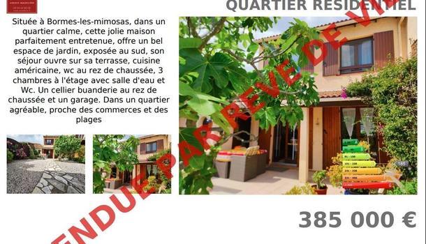 Bormes-les-Mimosas Maison 4 pièces 83 m²