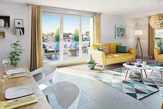 Marseille 11eme Appartement neuf 3 pièces 58 m²