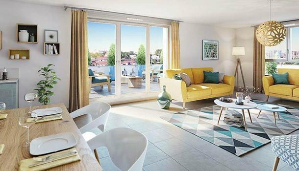 Appartement neuf 2 pièces 40 m² Marseille 11eme 13011