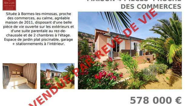 Bormes-les-Mimosas Maison 4 pièces 115 m²