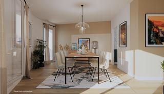 Rennes Appartement neuf 2 pièces 41 m²