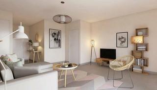 Lyon 8eme Appartement neuf 2 pièces 42 m²
